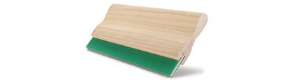 Imagen Raseros de madera, aluminio para impresión manual o equipo automático
